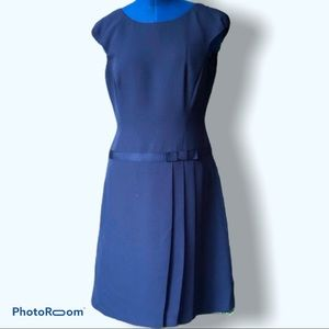 Liz Claiborne | Navy Blue Career Dress